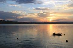 Landskap från den kroatiska stranden Royaltyfria Bilder