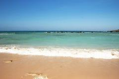 Landskap från havsbakgrunden Arkivbild