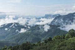 Landskap från Laos Royaltyfri Fotografi
