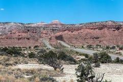 Landskap från mellanstatliga 70, Utah Fotografering för Bildbyråer