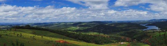 Landskap från Minas Gerais Arkivbild
