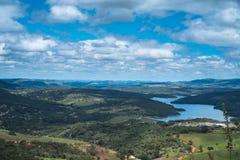 Landskap från Minas Gerais Arkivfoton