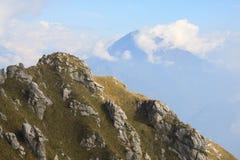 Landskap från monteringen Grona Arkivbilder