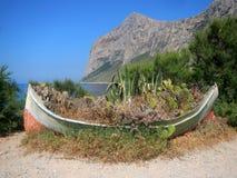 Landskap från Punta Barcarello Royaltyfri Bild