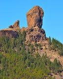 Landskap från toppmötet av Gran canaria Fotografering för Bildbyråer