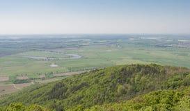 Landskap från Ungern, Tokaj Royaltyfria Bilder