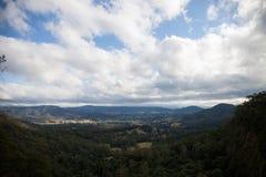 Landskap från utkik Arkivfoton