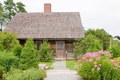 landskap för hus som är pittoreskt Royaltyfri Fotografi