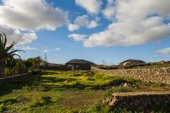 Landskap - Fuerteventura Arkivbild