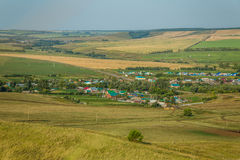 Landskap hemland royaltyfri fotografi