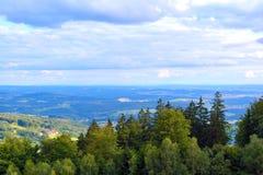 Landskap i Bayern Arkivfoton