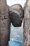 Landskap i berg norway fotografering för bildbyråer