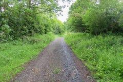 Landskap i Bridgnorth arkivfoton