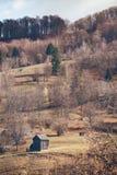 Landskap i Carpathiansna Arkivfoton