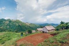 Landskap i Chiang Mai Thailand arkivfoton