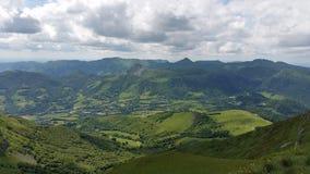 Landskap i den centrala massiven Royaltyfria Bilder
