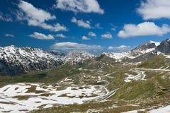 Landskap i Durmitor, Montenegro Arkivbild