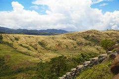 Landskap i Filippinerna Arkivbild