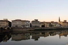 Landskap i Florence Arkivbild