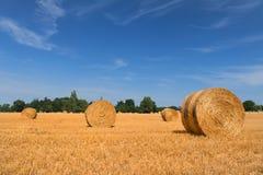 Landskap i franska Haute Vienne Royaltyfri Fotografi