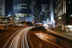 Landskap i Hong Kong Arkivbilder