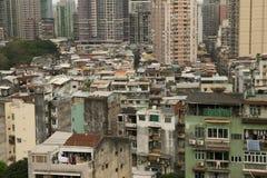 Landskap i Macao Arkivbild