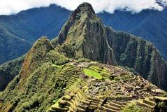 Landskap i Machu Picchu i Peru royaltyfria bilder