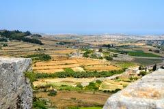 Landskap i Malta Royaltyfria Bilder