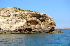 Landskap i Malta Arkivfoton