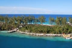 Landskap i Nassau, Bahamas royaltyfri fotografi