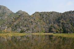 Landskap i norr Vietnam Royaltyfria Foton