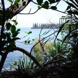 Landskap i Nya Kaledonien fotografering för bildbyråer