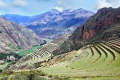 Landskap i Peru Royaltyfria Bilder