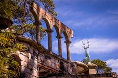 Landskap i skönhetnaturen av Mexico Arkivfoton