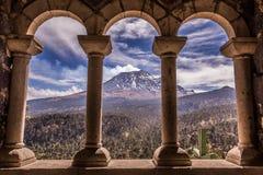 Landskap i skönhetnaturen av Mexico Arkivbilder
