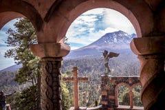Landskap i skönhetnaturen av Mexico Royaltyfri Foto