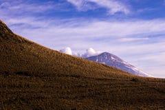 Landskap i skönhetvulkorna av Mexico Royaltyfri Bild