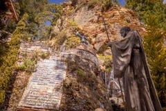 Landskap i skönhetvulkorna av Mexico Royaltyfria Bilder