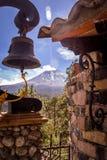 Landskap i skönhetvulkorna av Mexico Royaltyfri Fotografi
