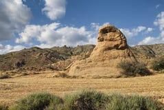 Landskap i Spanien på sommar Royaltyfri Foto