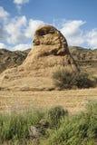 Landskap i Spanien på sommar Arkivfoto