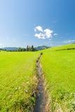 Landskap i sydlig Tyskland Arkivfoto