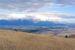 Landskap i västra Montana royaltyfri foto