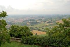 Landskap Italien arkivbild