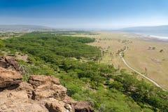 Landskap Kenya Arkivfoton