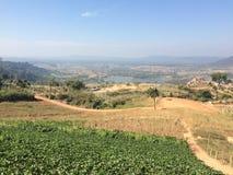 Landskap Khao Kho Phetchabun Royaltyfri Fotografi
