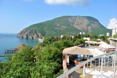 Landskap Krim Ukraina arkivfoton