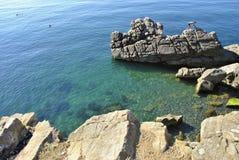 Landskap Krim Ukraina royaltyfria foton