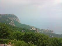 Landskap Krim Ukraina arkivfoto