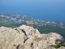 Landskap Krim Ukraina arkivbild